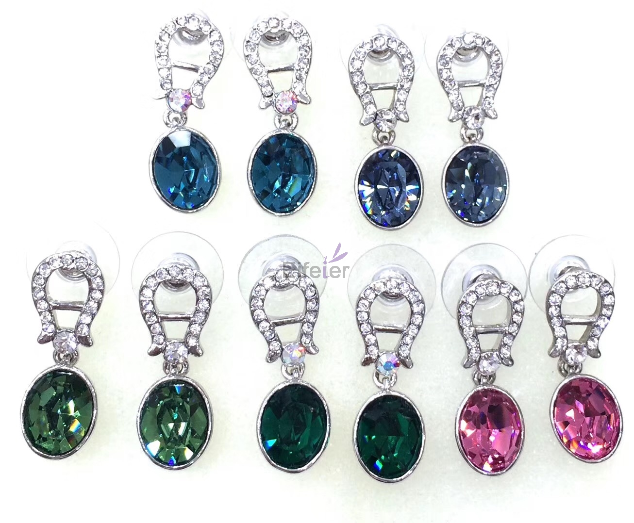 Swarovski Elements Earrings-M10007-174